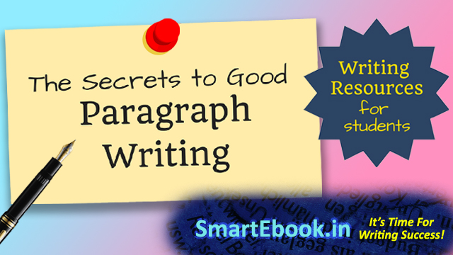 HOW TO WRITE A PARAGRAPHS smartebook.in